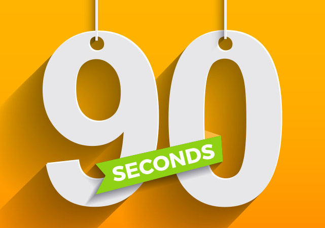 Huge dwell time: 90 seconds of real engagement