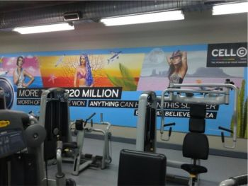 gyms-indoor-billboards-cell-c-planet-fitness-advertising-tlc